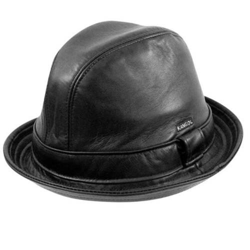 What You Are Searching For  Kangol Plain Leather Player 63fc6b60bd7