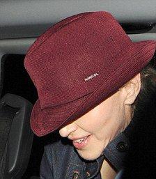 Madonna wears Kangol