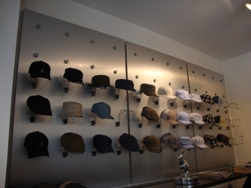Inside the Kangol Showroom