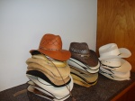 Lots of hats!